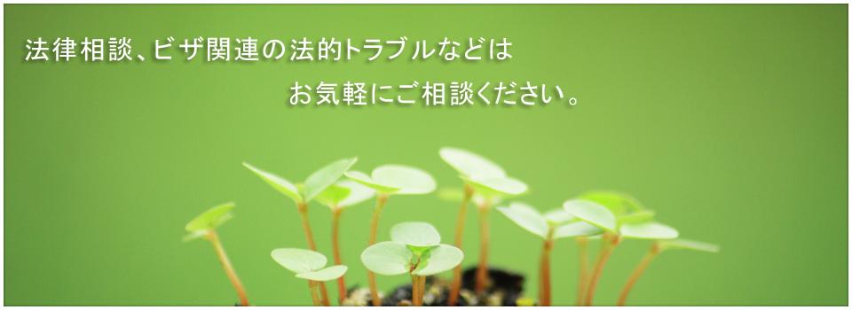 法律相談、ビザ関連の法的トラブル|大阪市北区西天満の法律事務所